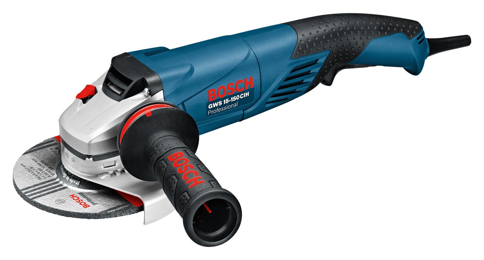 УШМ (болгарка) Bosch Gws 15-150 cih (0.601.830.522)