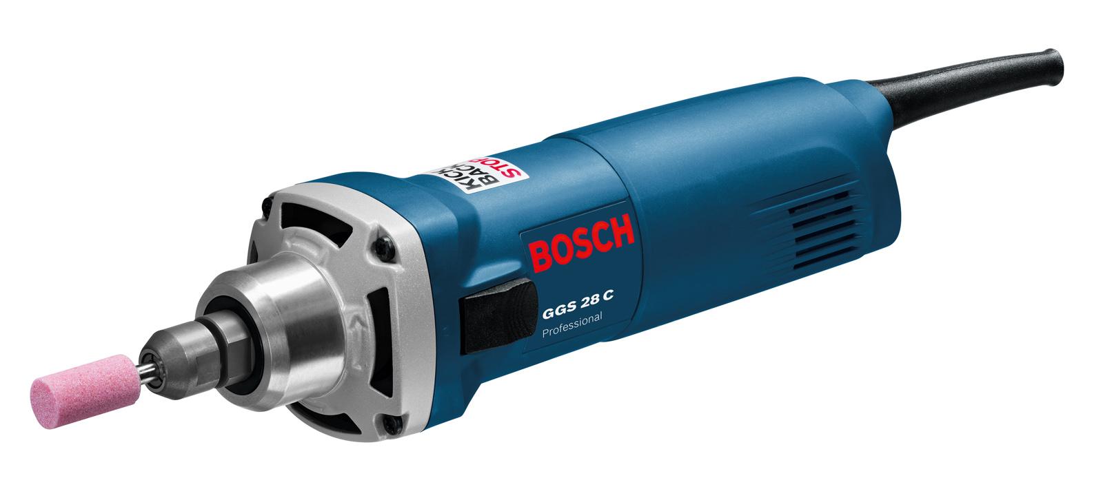 Машинка шлифовальная прямая Bosch Ggs 28 c (0.601.220.000) гравер bosch ggs 28 lce professional