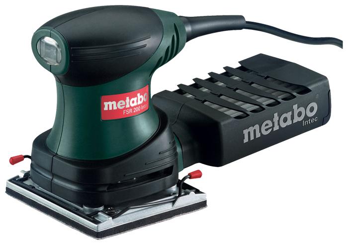 Машинка шлифовальная плоская (вибрационная) Metabo Fsr 200 intec (600066500) metabo fsx 200 intec