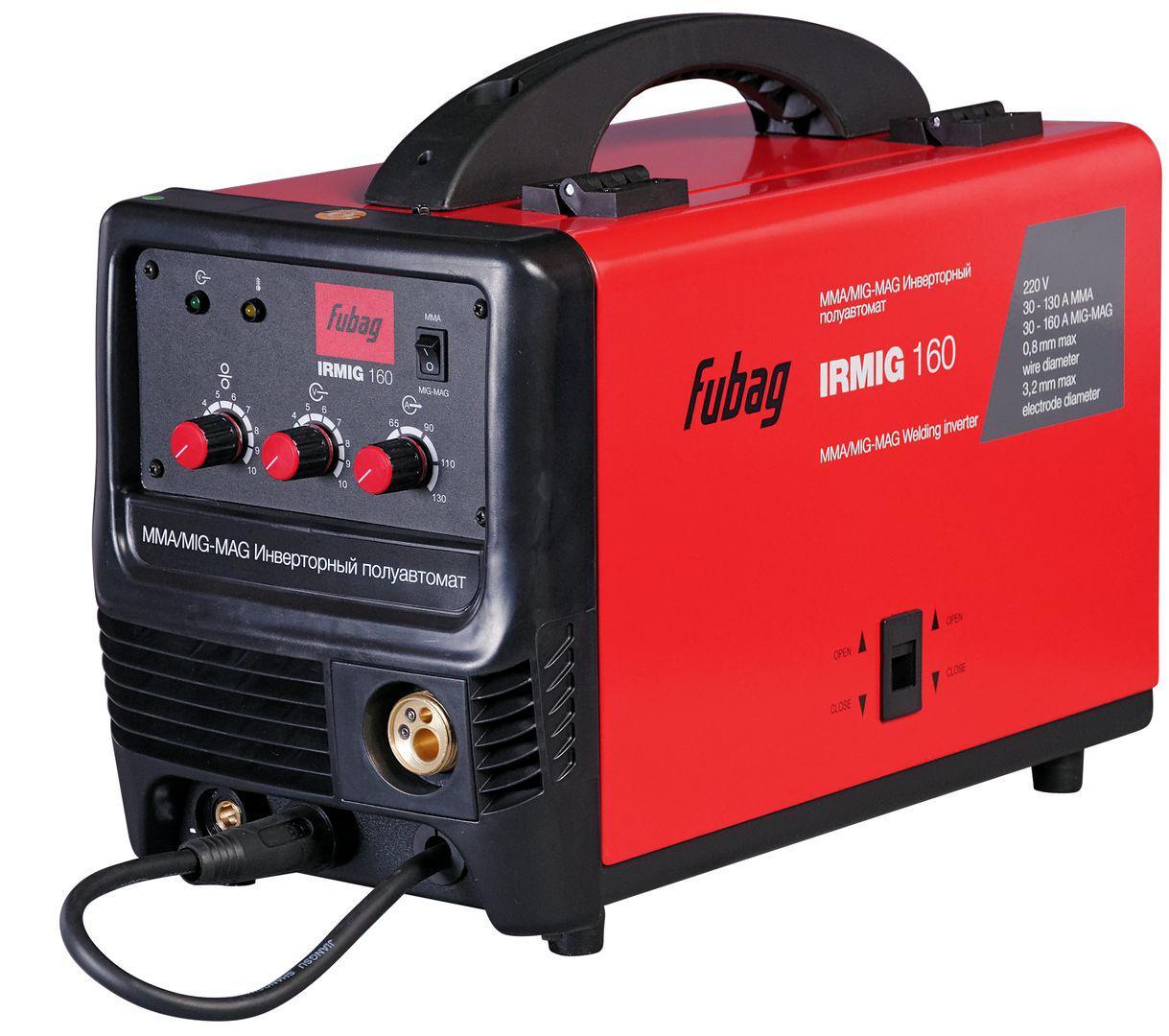 Сварочный полуавтомат Fubag Irmig 160 38607 + горелка fb 150 3 м сварочный полуавтомат fubag irmig 160 38607 горелка fb 150 3 м инвертор