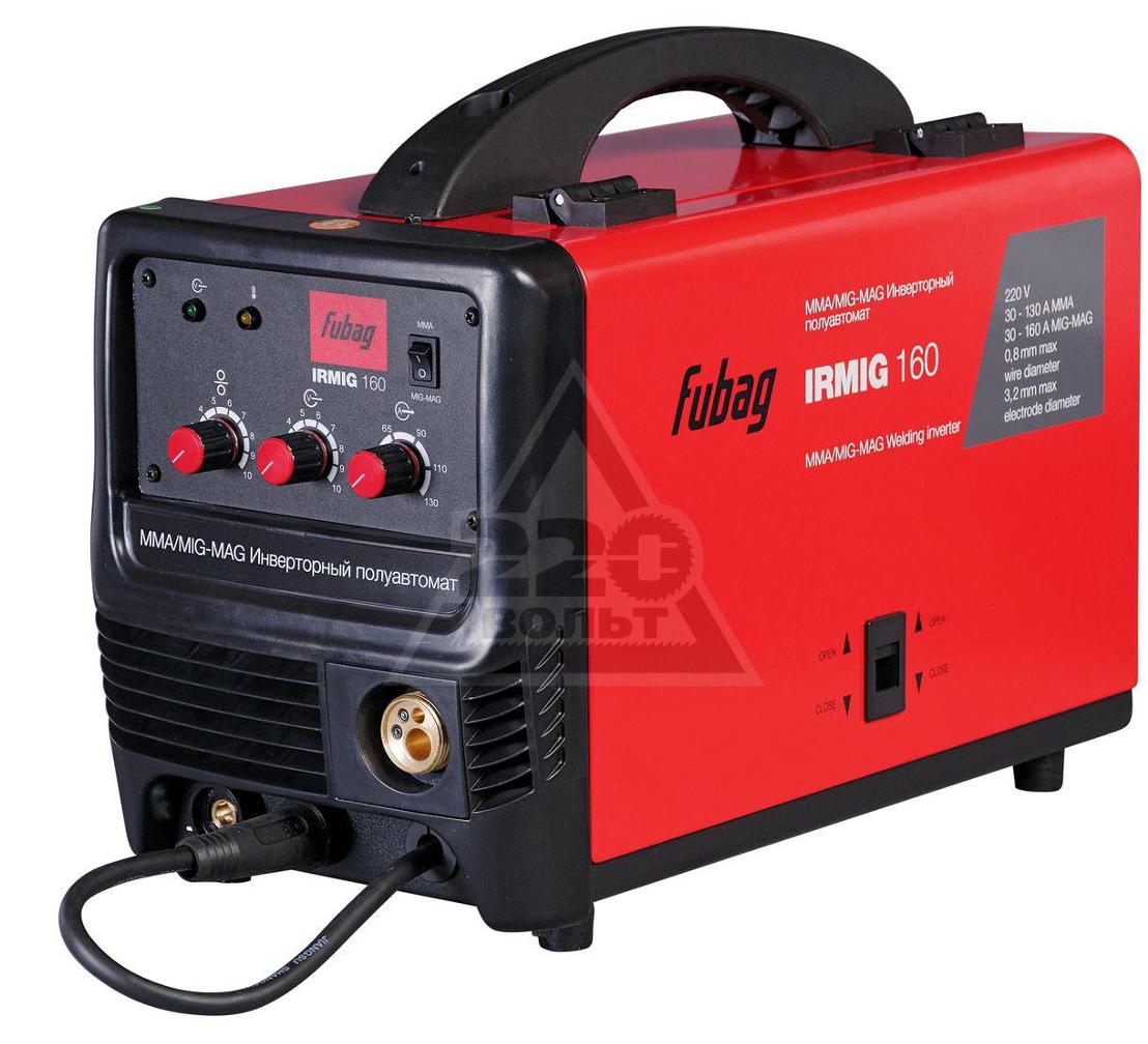 Сварочный полуавтомат FUBAG IRMIG 160 38607 + горелка FB 150 3 м