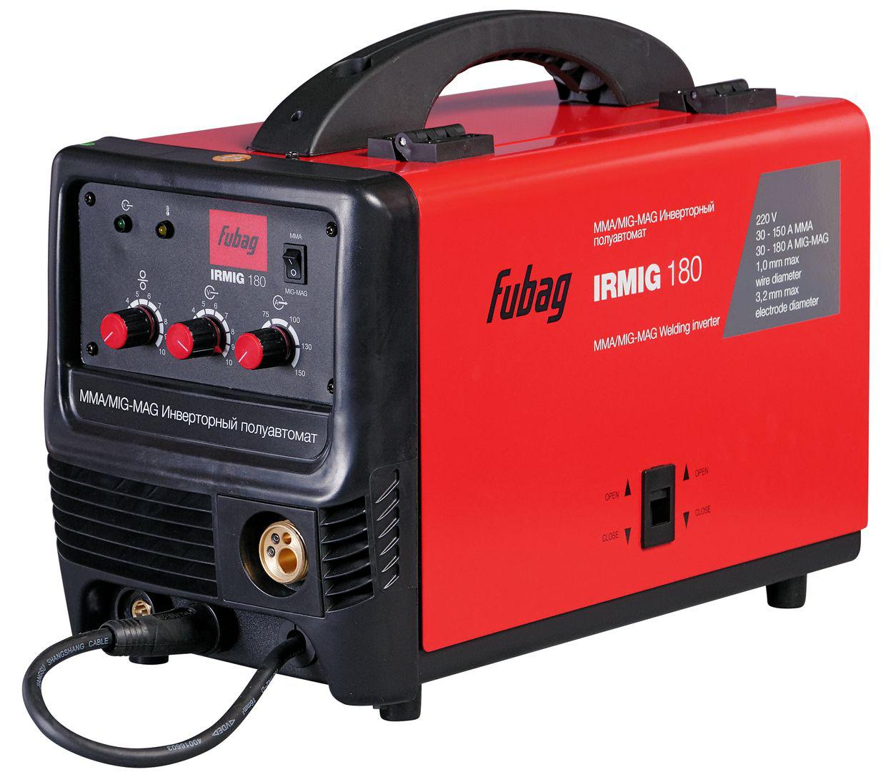 Сварочный полуавтомат Fubag Irmig 180 38608 + горелка fb 250 3 м сварочный полуавтомат fubag irmig 180 с горелкой fb 250 3 м