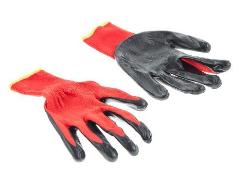 Нейлоновые перчатки с нитриловым покрытием HAMMER 230-030