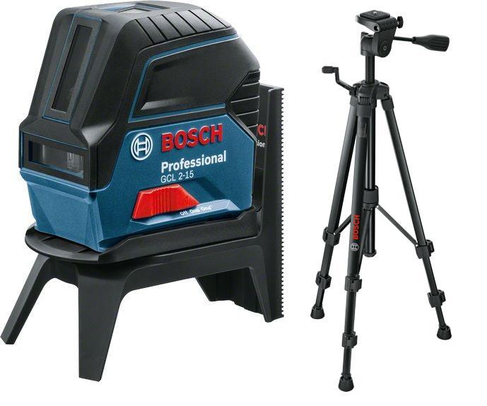 Набор Bosch Уровень gcl 2-15 + rm1 (0.601.066.e00) +Штатив bt 150 (0.601.096.b00)