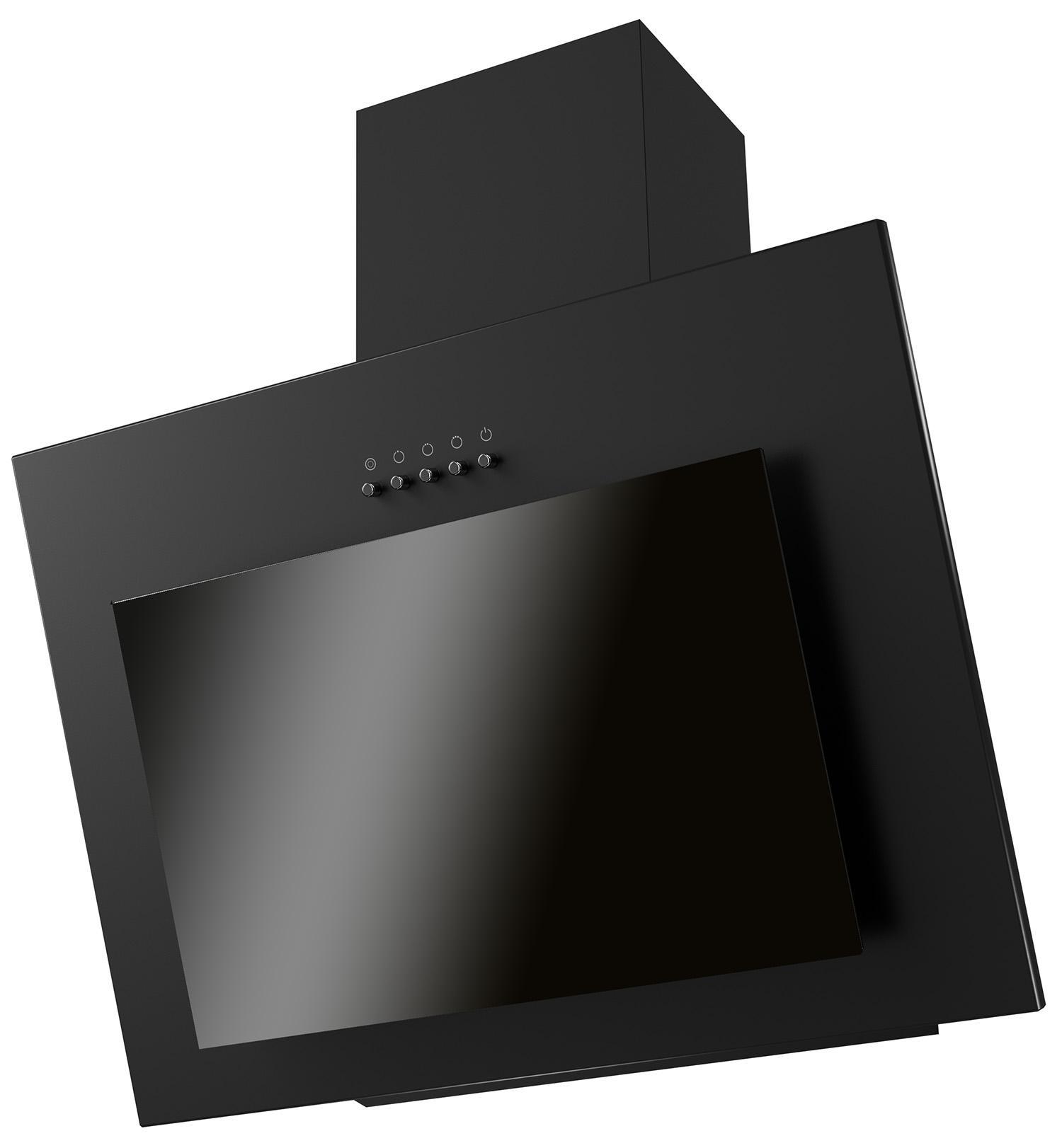 лучшая цена Вытяжка Kronasteel 600 black pb freya