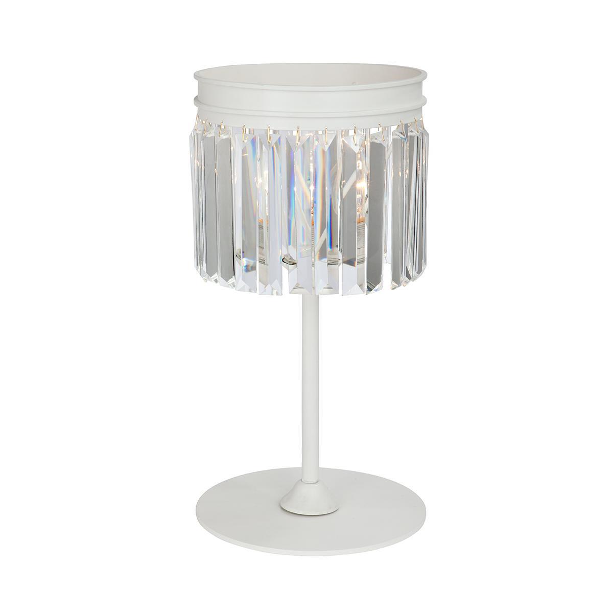 Лампа настольная Vitaluce V5127-0/1l настольная лампа белый абажур для гостиной домашние украшения для гостиной настольные лампы для спальни ночники