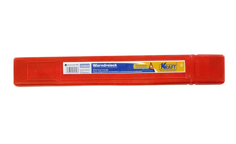 цена на Знак аварийной остановки Kraft Kt 830005