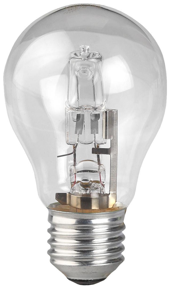 Лампа галогенная ЭРА Hal-a55-50w-230v-e27-cl лампа 24 v 55 50 w фарная vettler