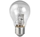Лампа галогенная ЭРА Hal-A55-70W-230V-E27-CL