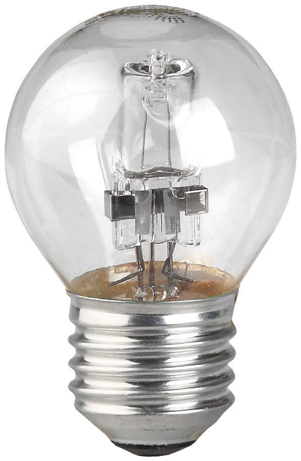Лампа галогенная ЭРА Hal-p45-42w-230v-e27-cl эра p45 e27 5w 230v белый свет