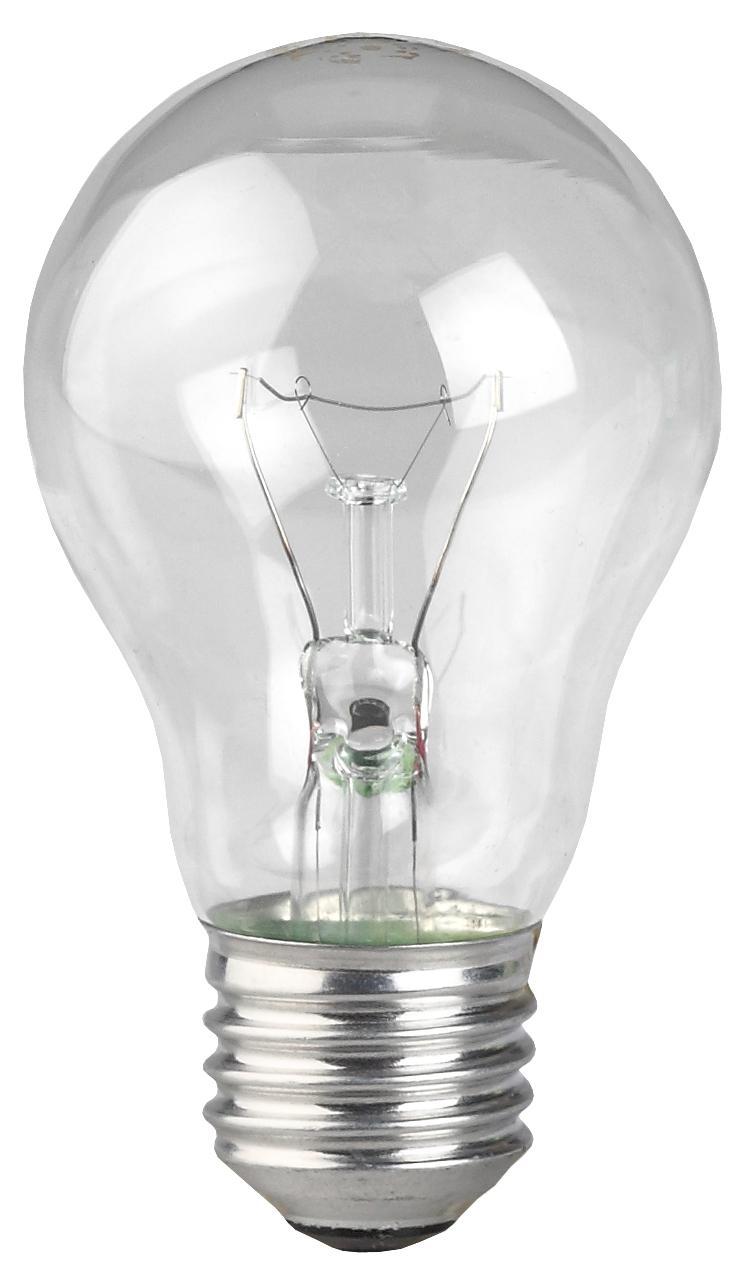 Лампа ЭРА А55/А50-75-230-e27-cl