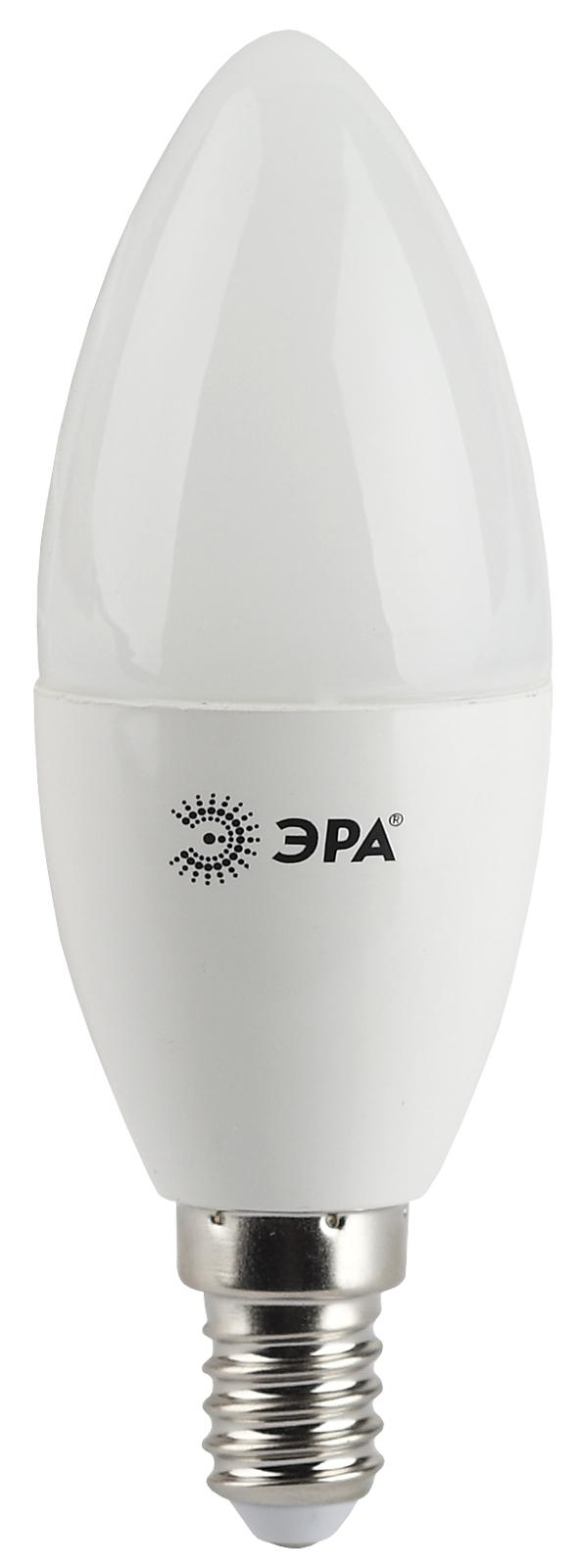 Лампа светодиодная ЭРА Led smd b35-5w-827-e14