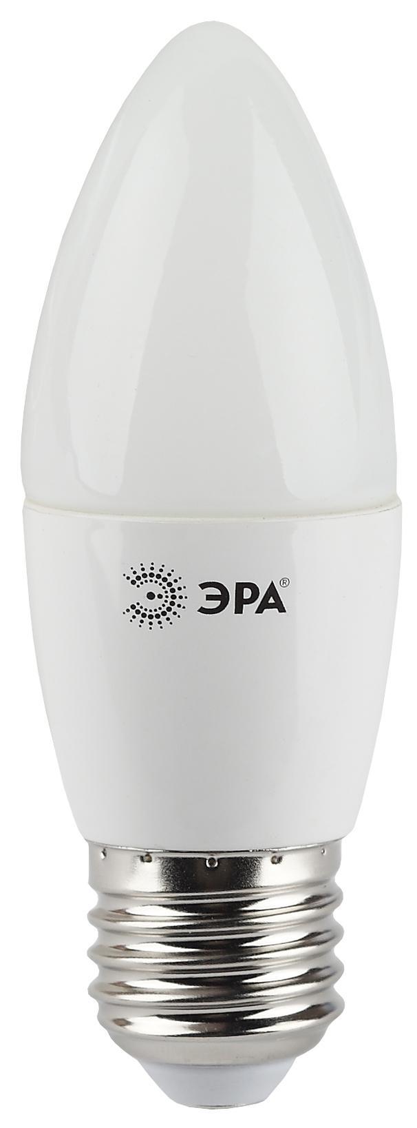 Лампа светодиодная ЭРА Led smd b35-7w-840-e27 лампа светодиодная эра led smd bxs 7w 840 e14 clear