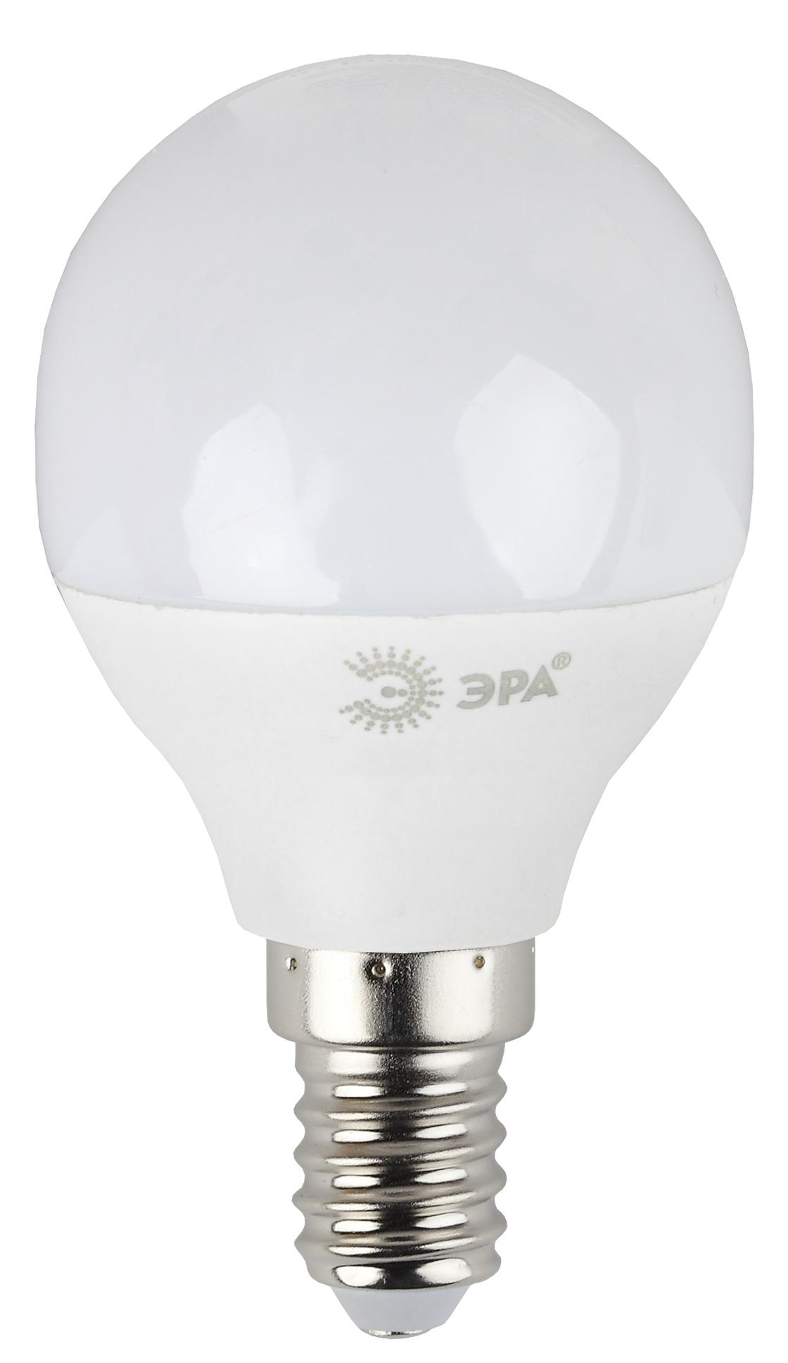 Лампа светодиодная ЭРА Led smd p45-7w-827-e14 лампа светодиодная эра led smd bxs 7w 840 e14 clear