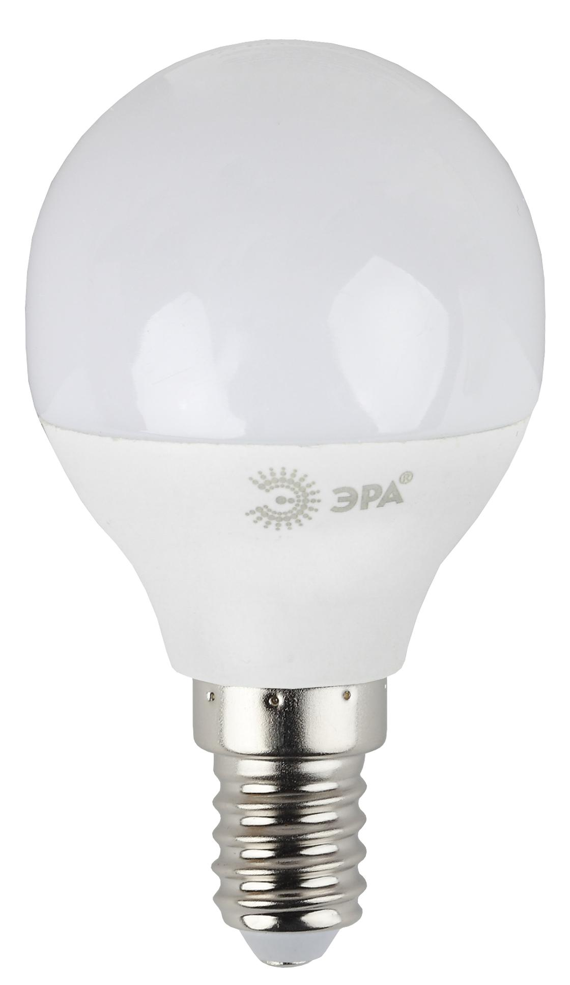 Лампа светодиодная ЭРА Led smd p45-7w-840-e14 лампа светодиодная эра led smd bxs 7w 840 e14 clear