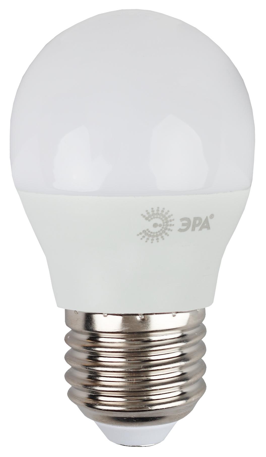 Лампа светодиодная ЭРА Led smd p45-9w-827-e27
