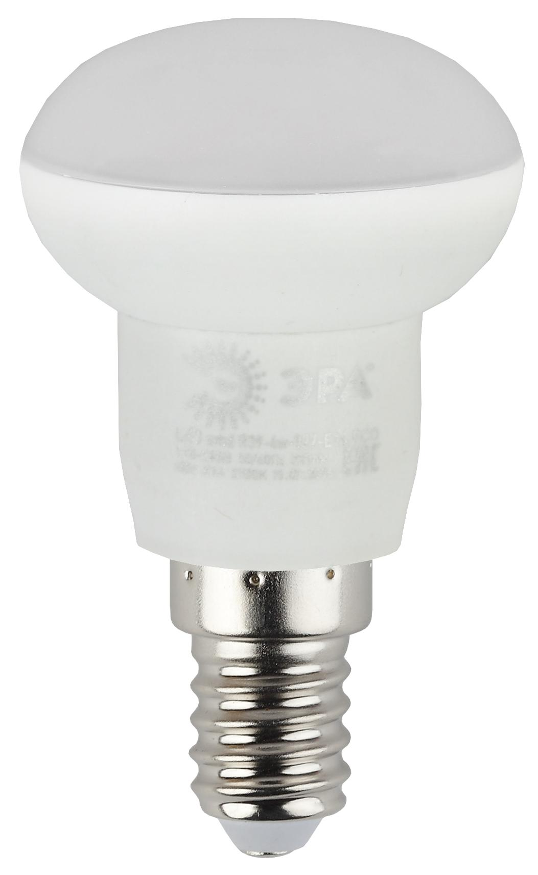 Лампа светодиодная ЭРА Led smd r39-4w-840-e14_eco gu10 4w 60x3528 smd led 240 lumen 3500k warm white light bulb ac 85 265v