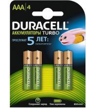 DURACELL HR03-4BL Б0014861 Тип: AAA (LR03) (Кол-во в уп. 4шт.)