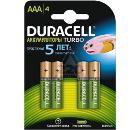 Аккумулятор DURACELL HR03-4BL Б0014861