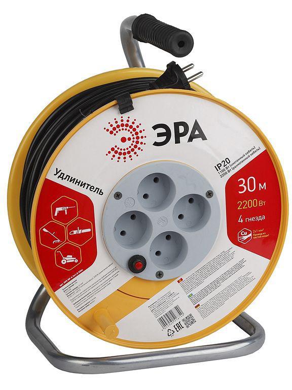 Удлинитель ЭРА Rp-4-3x1-30m Б0033022