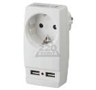 Адаптер ЭРА SP-1e-USB-W Б0026332