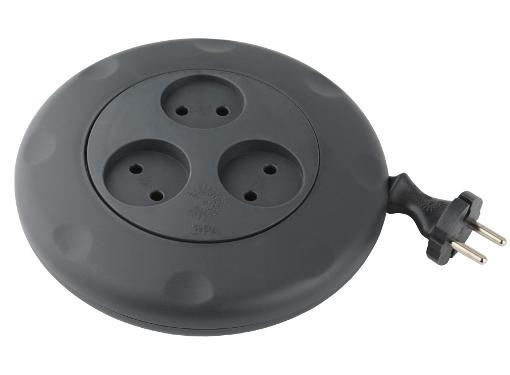 Удлинитель ЭРА UR-3-3m-B Б0019039   2х0.75