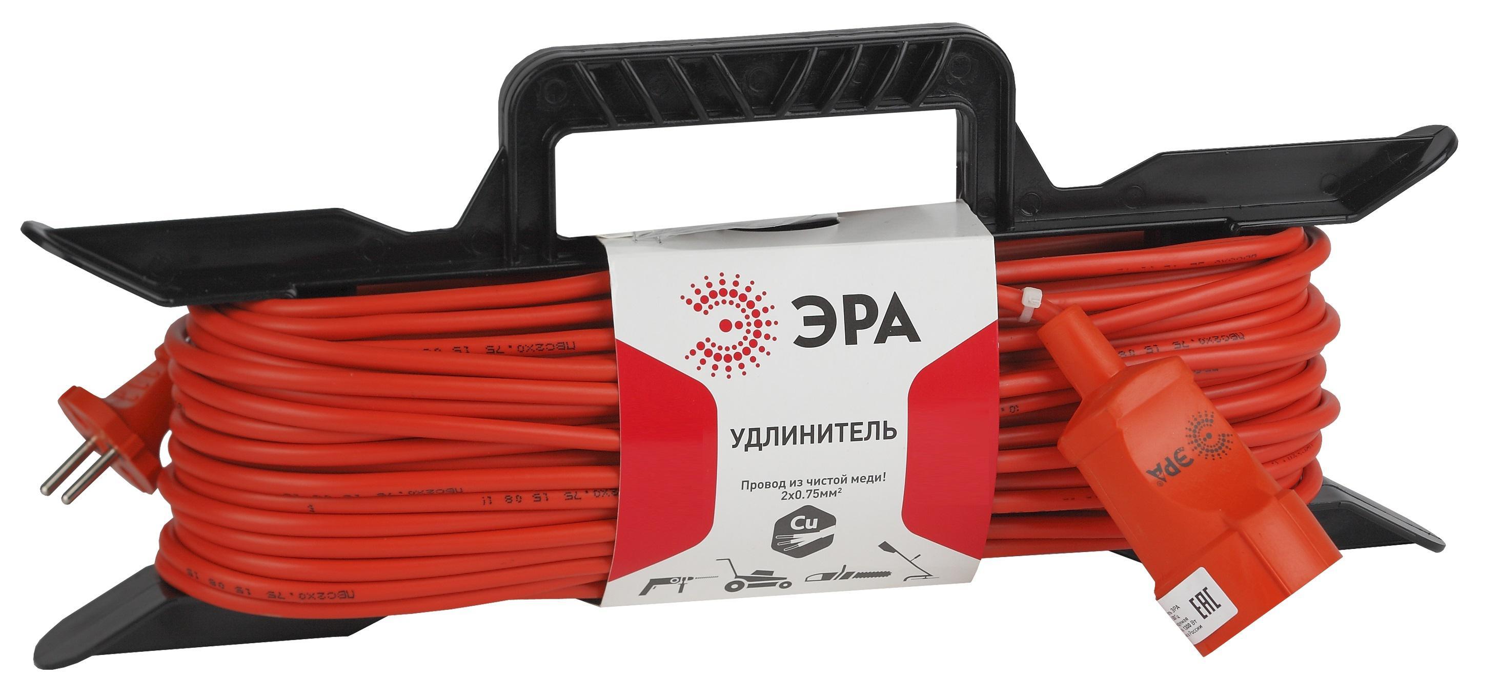 Удлинитель ЭРА Uf-1-2x0.75-40m Б0020351
