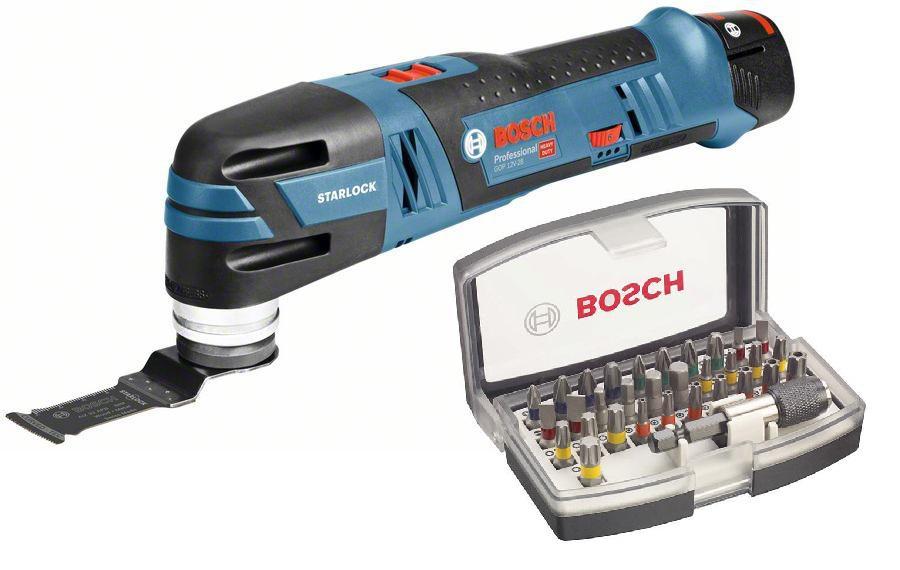 Инструмент многофункциональный Bosch Gop 12v-28 (0.601.8b5.020) + Набор бит