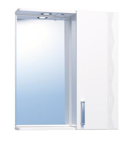 Зеркало-шкаф Vigo №16-550-Пр (б/э) atlantic