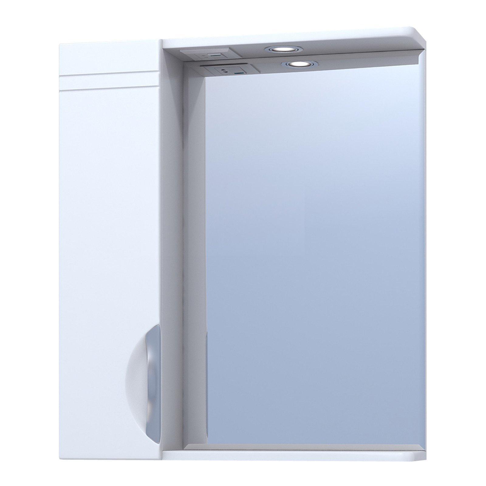 Зеркало Vigo №19-600-Л (б/э) jika тумба под раковину vigo jika напольная j 2 600 балтика 60х30х70