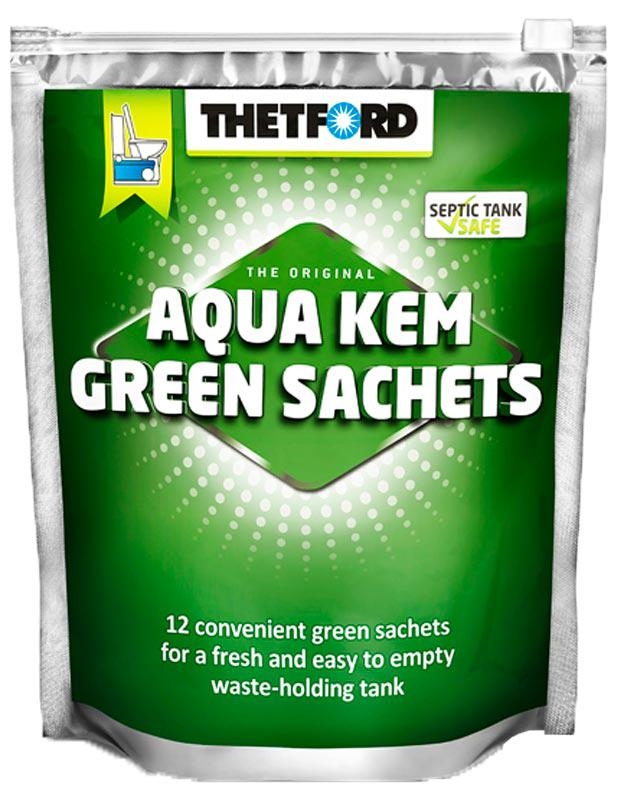 Гранулы Thetford Aqua kem green sachets aqua pe ultra troll dark green 150m 0 35mm 32 10kg