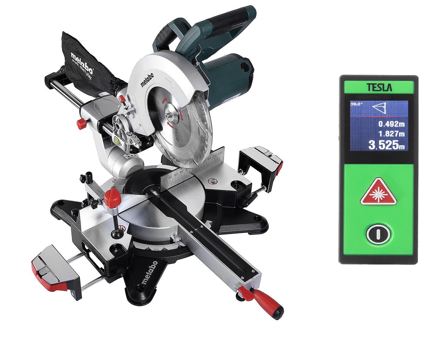 Набор Metabo Пила торцовочная kgs 254 m (602540000) +Дальномер m-40 touch