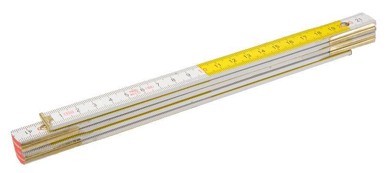 Метр складной Topex 26c006 линейка topex 31c100