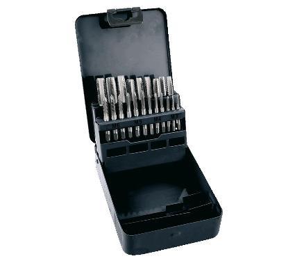 Набор ручных метчиков TOPEX М3-М12х мм 21шт. (14A430)
