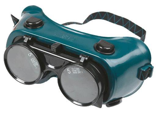 Очки защитные газосварщика TOPEX 82S105
