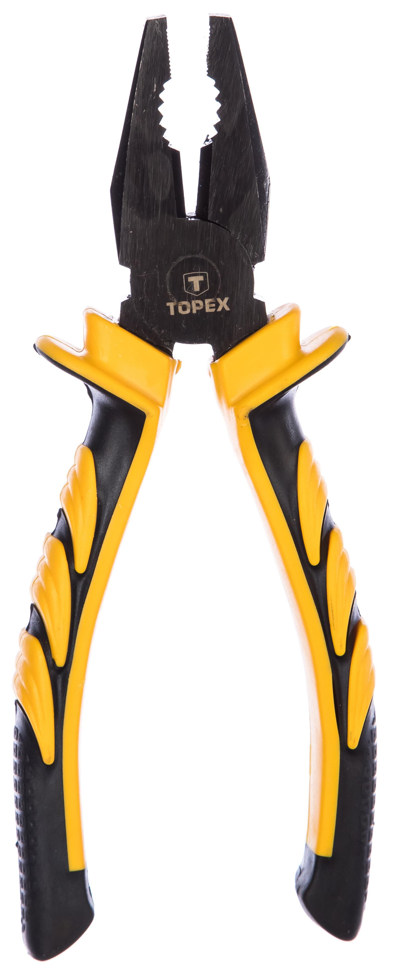 Плоскогубцы Topex 32d021 плоскогубцы topex 32d124
