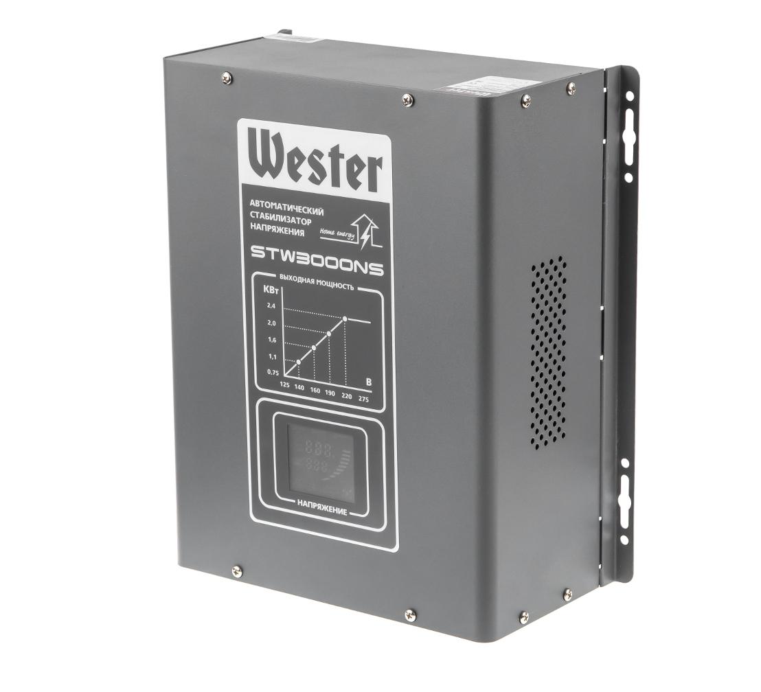 Стабилизатор напряжения WESTER STW3000NS