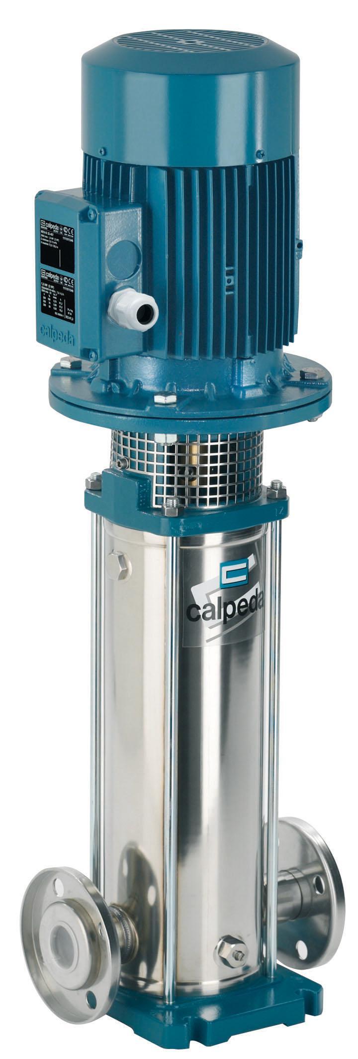 Насос Calpeda Mxv 32-412/c 230/400/50 hz m100 v1-3t