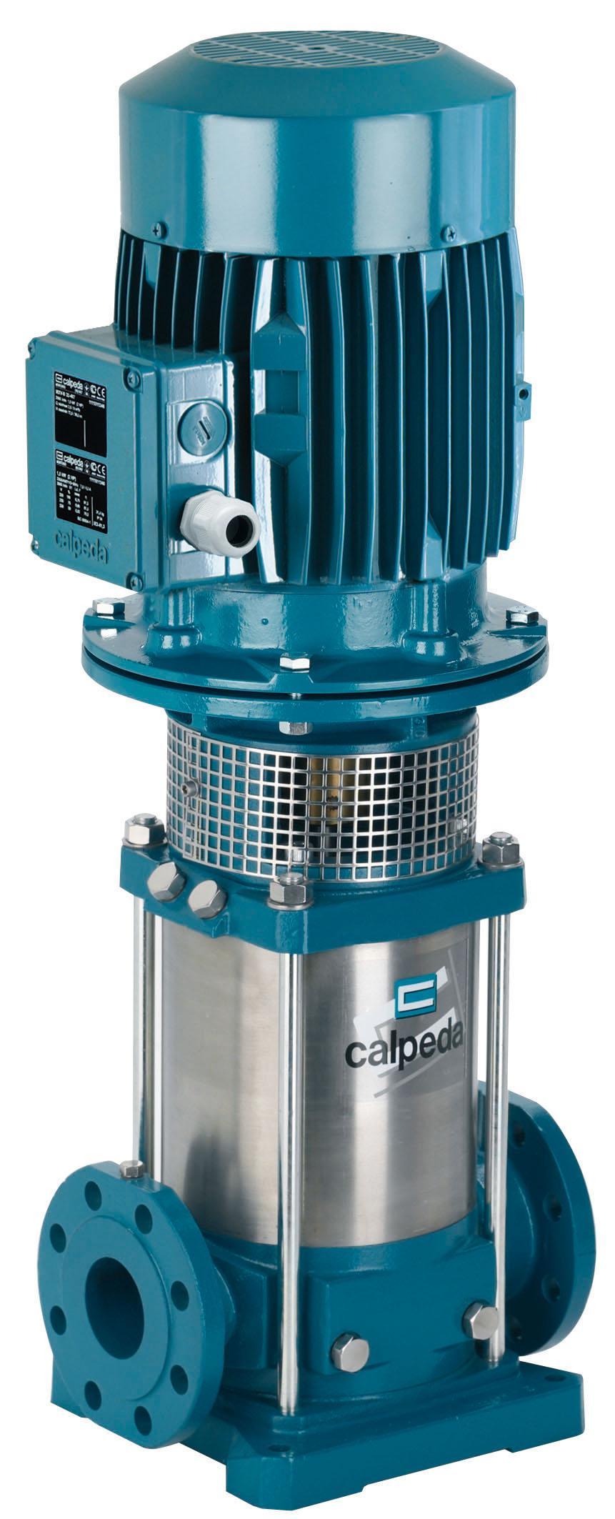 Насос Calpeda Mxv 50-1606/c 400/690/50 hz m132 v1-5.5t