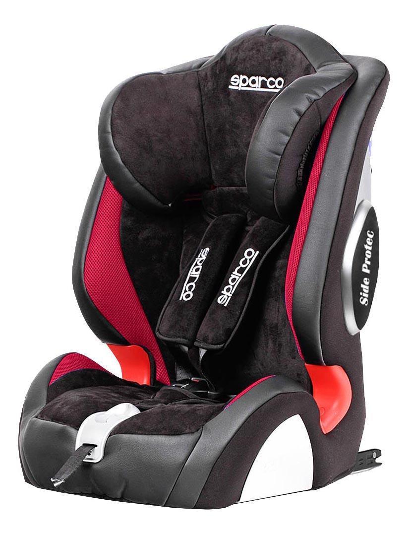 Кресло детское автомобильное Sparco F1000ki rd sparco детское кресло sparco f 1000k группы 1 2 3 9 36 кг 9 мес 12 лет полиэстер объёмная сетчат
