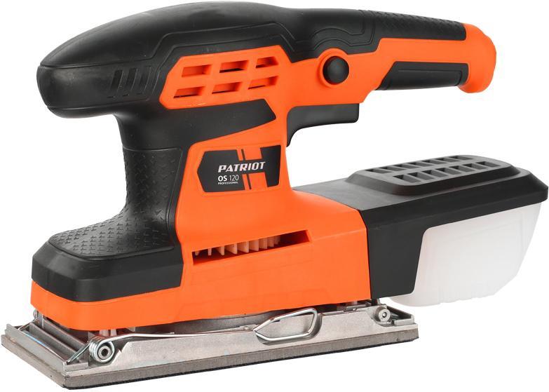 Машинка шлифовальная плоская (вибрационная) Patriot Os 120 машинка шлифовальная плоская вибрационная makita bo4557