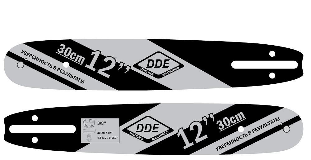 Шина цепной пилы Dde 249-914 головка муфтовая 3 dde гм 80