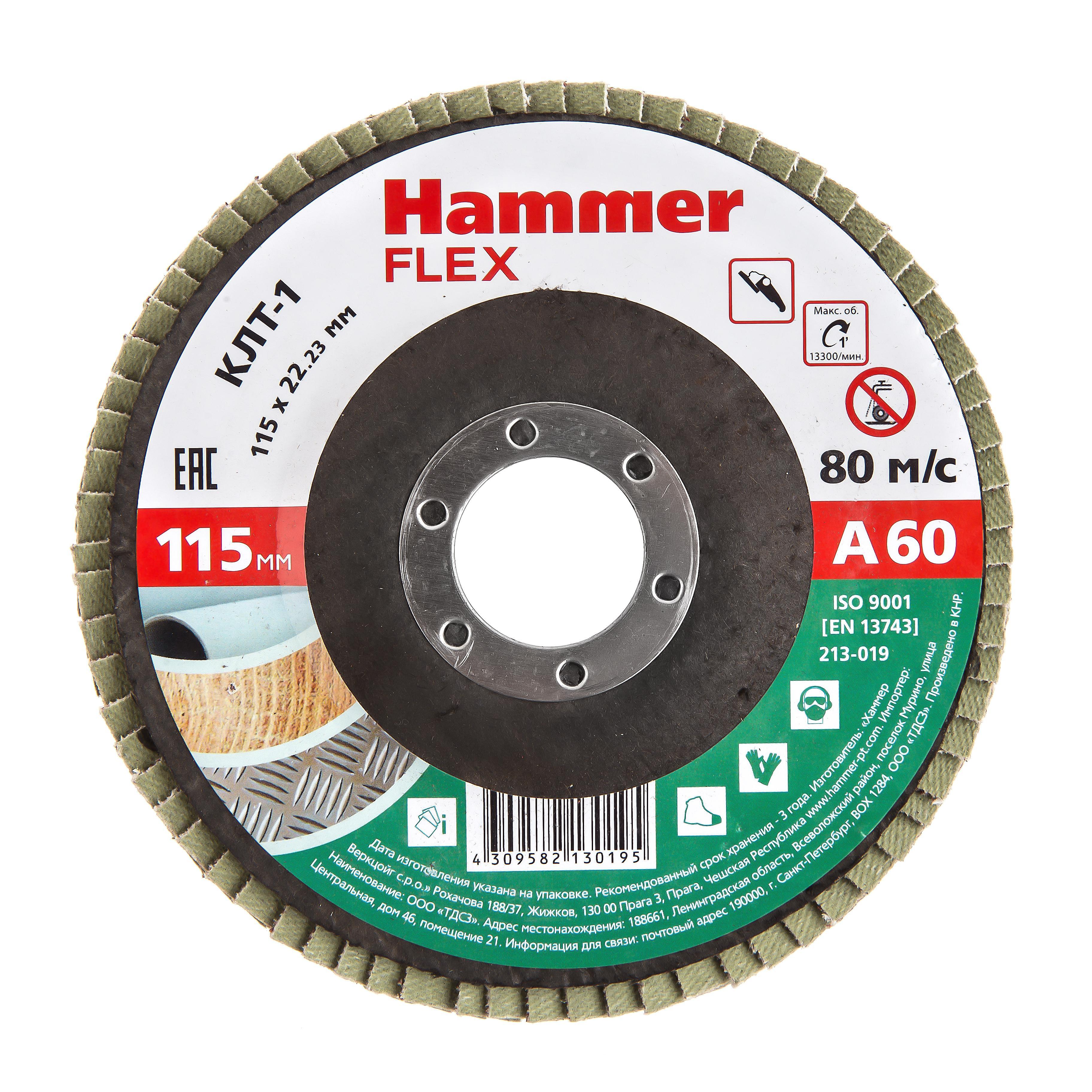 Купить Круг Лепестковый Торцевой (КЛТ) Hammer 213-019