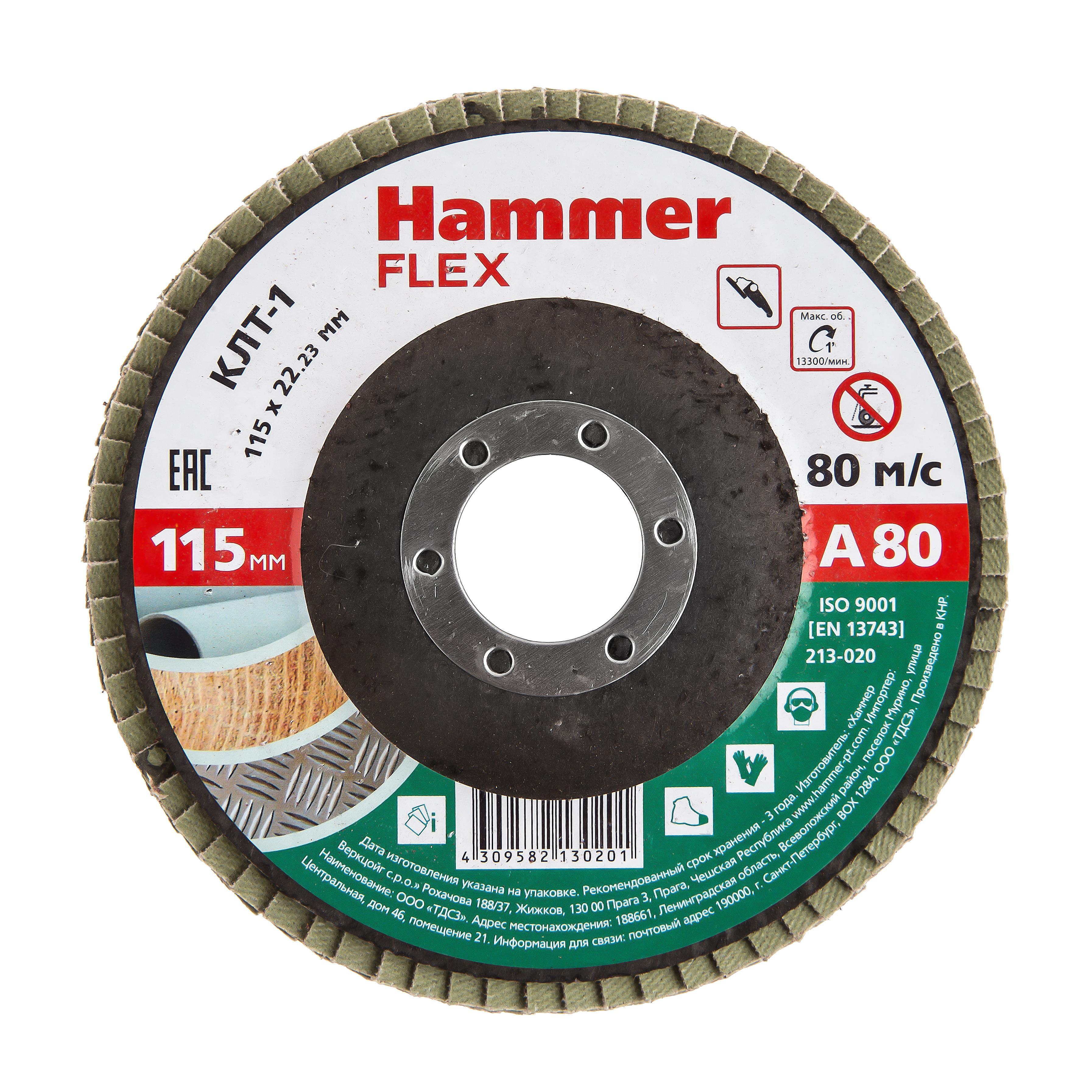 Купить Круг Лепестковый Торцевой (КЛТ) Hammer 213-020