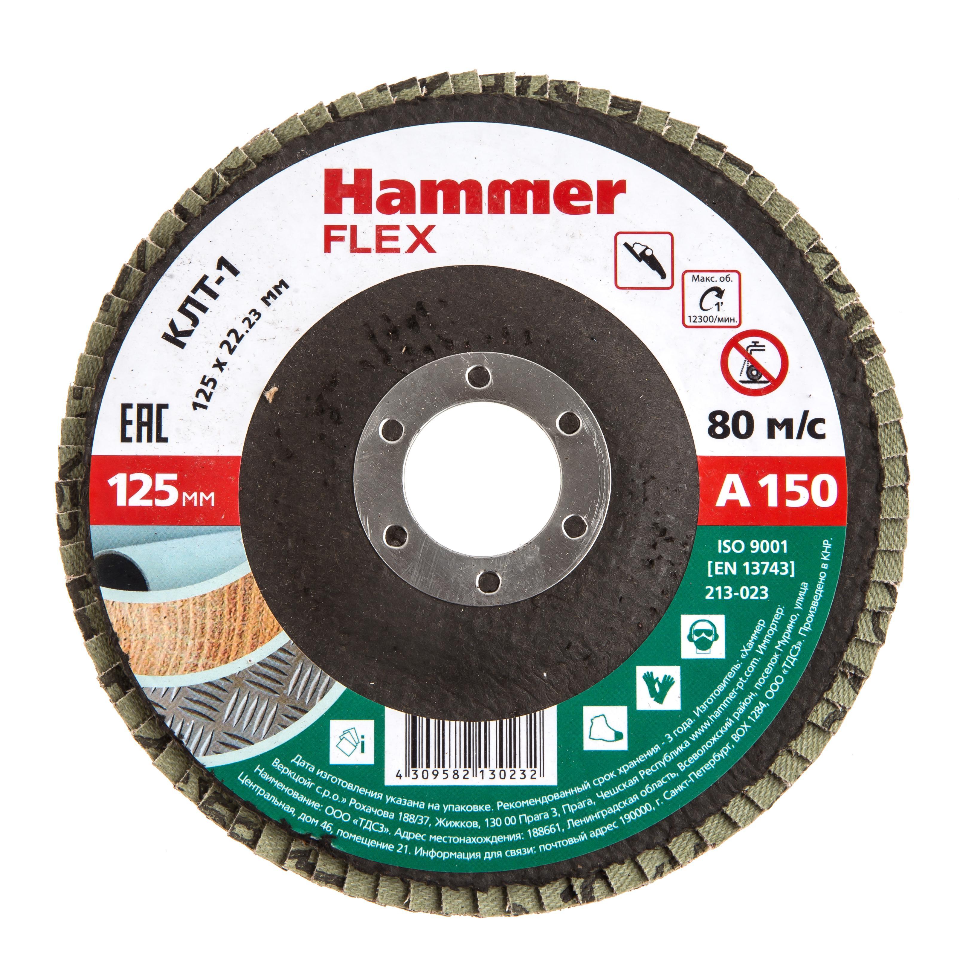 Купить Круг Лепестковый Торцевой (КЛТ) Hammer 213-023