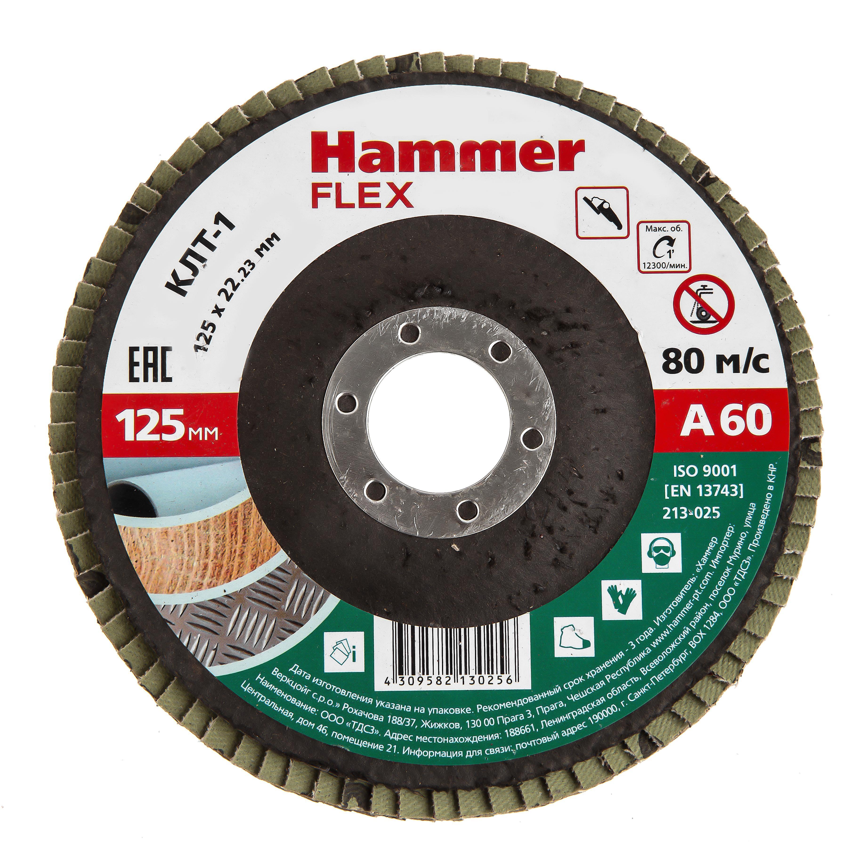 Купить Круг Лепестковый Торцевой (КЛТ) Hammer 213-025