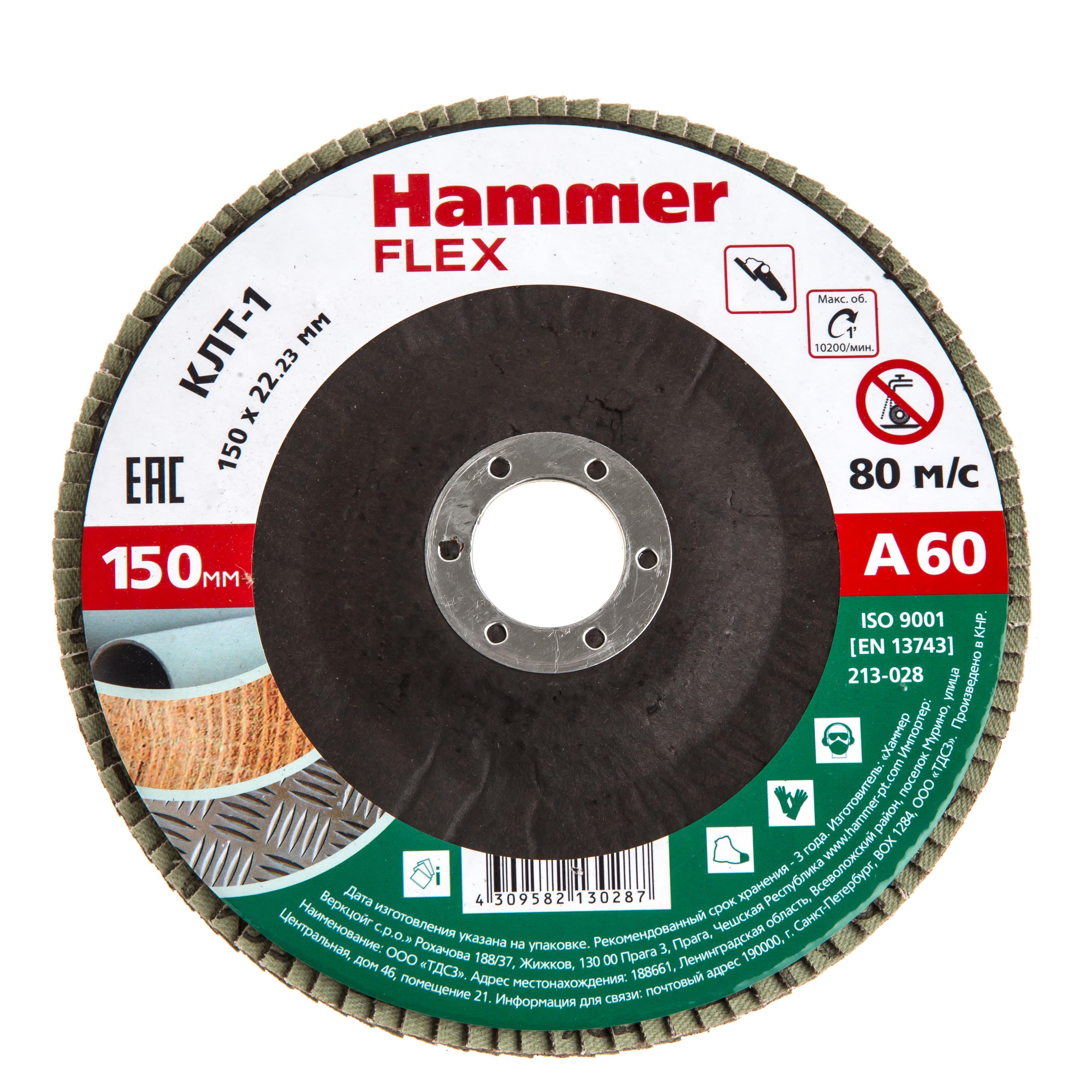 Купить Круг Лепестковый Торцевой (КЛТ) Hammer 213-028