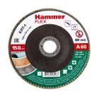 Круг Лепестковый Торцевой (КЛТ) HAMMER Ф150х22 P60