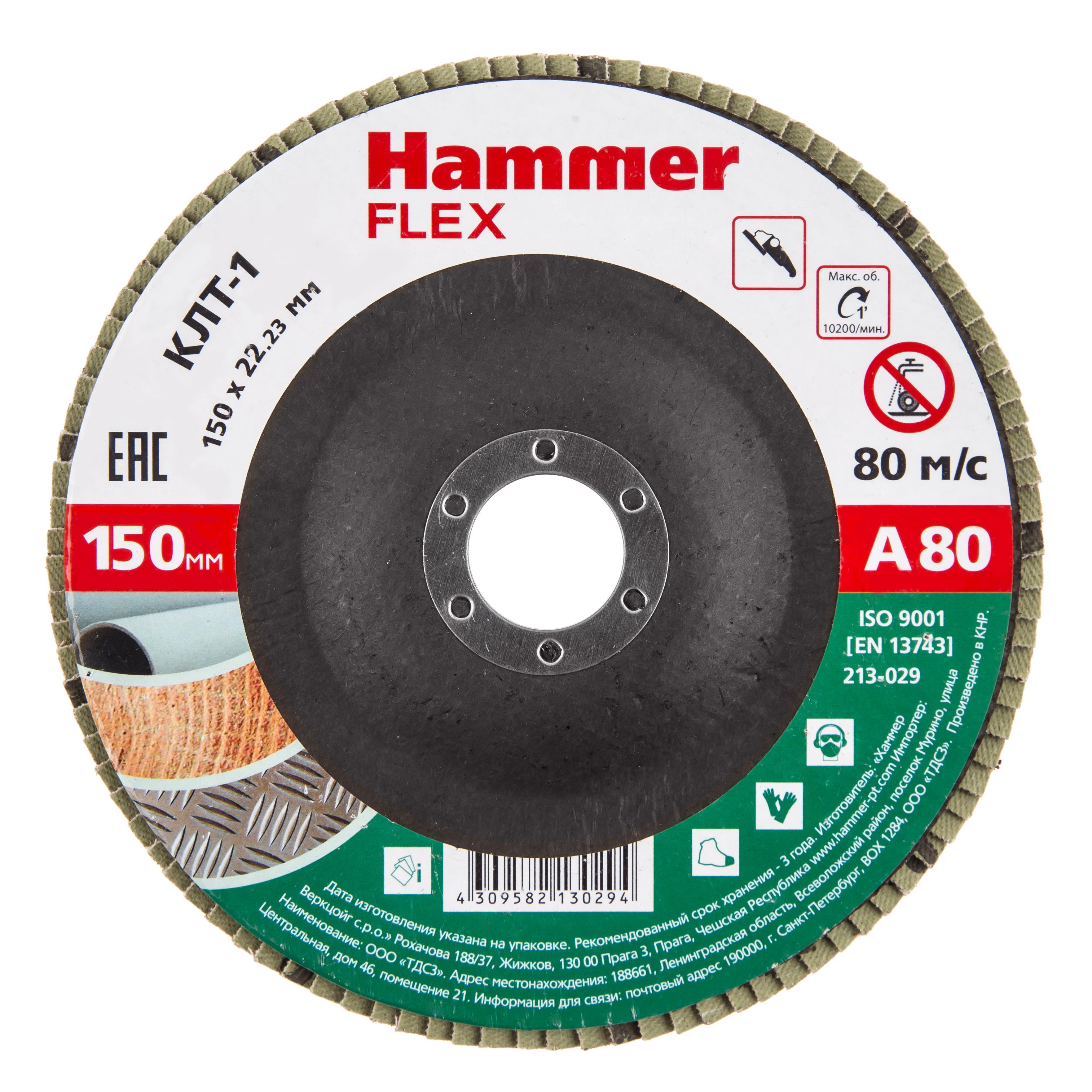 Купить Круг Лепестковый Торцевой (КЛТ) Hammer 213-029
