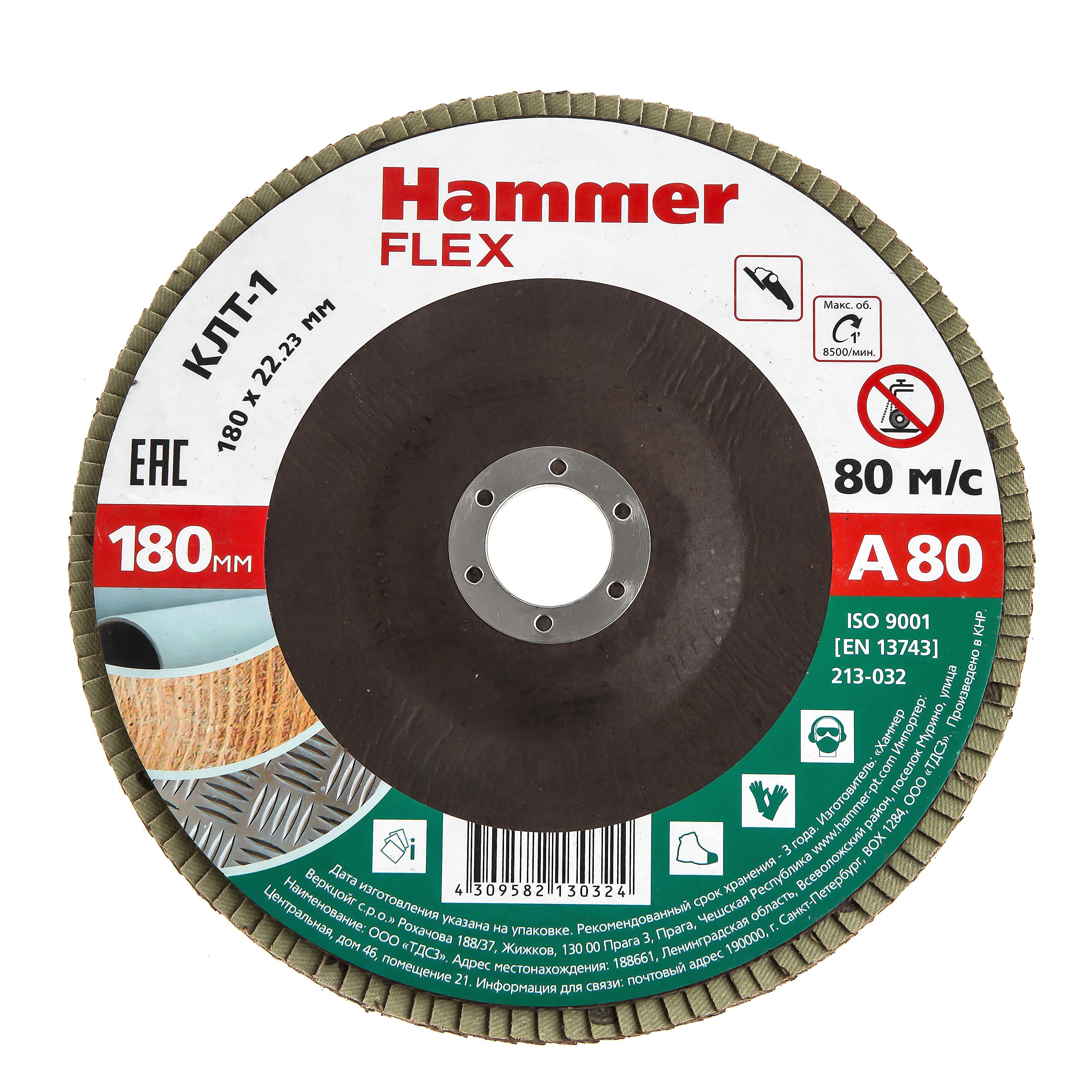Купить Круг Лепестковый Торцевой (КЛТ) Hammer 213-032